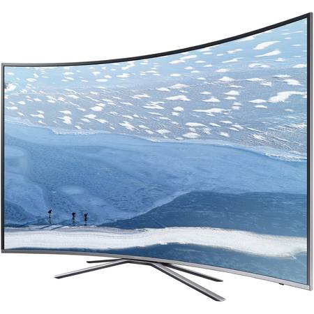 Televizor LED Curbat Samsung 43KU6502, 108 cm, 4K Ultra HD, Smart