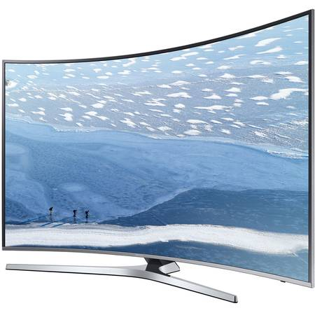 Televizor LED Curbat Samsung 43KU6672, 108 cm, 4K Ultra HD, Smart