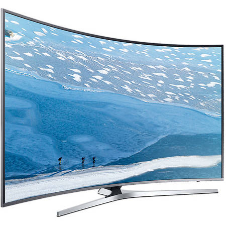 Televizor LED Curbat Samsung UE49KU6672, 123 cm, 4K Ultra HD, Smart