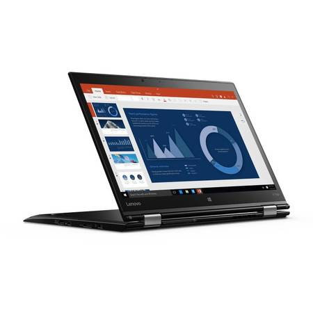 "Laptop 2-in-1 Lenovo 14"" ThinkPad X1 Yoga 1st gen, WQHD IPS Touch, Intel Core i5-6200U, 8GB, 256GB SSD, GMA HD 520, 4G, FingerPrint Reader, Win 10 Pro"