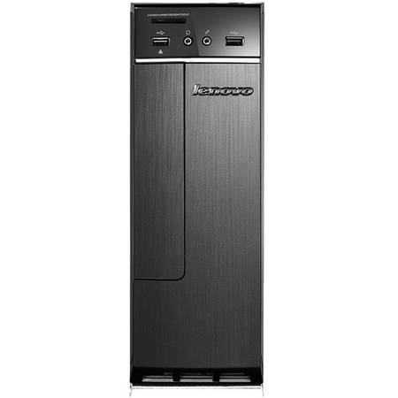 Sistem desktop Lenovo IdeaCentre 300S, Intel Celeron J3060 1.6GHz Braswell, 4GB DDR3, 500GB HDD, GMA HD, FreeDos, Black