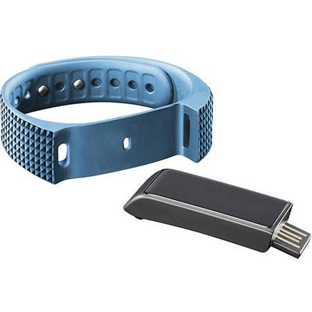 Cellularline Bratara Fitness Bluetooth Touchscreen Rezistenta La Apa - Blue