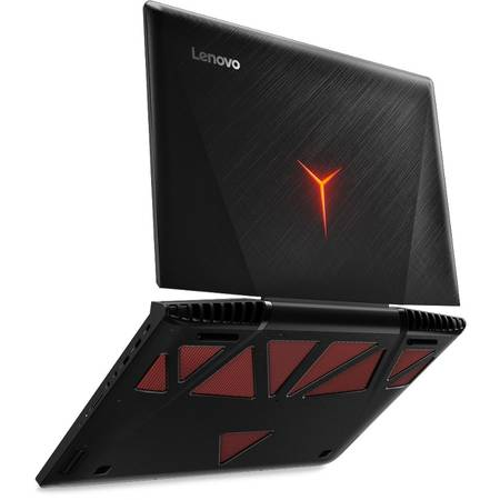 Laptop Lenovo Gaming 17.3'' IdeaPad Y900, FHD IPS, Intel Core  i7-6820HK (8M Cache, up to 3.60 GHz), 32GB DDR4, 1TB SSD (2x 512GB), GeForce GTX 980M 8GB, Win 10 Home, Black