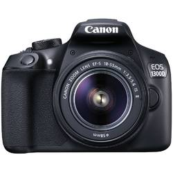 "Camera foto Canon EOS-1300D + EFS18-55 IS, 18MP, CMOS,3"" TFT fixed"