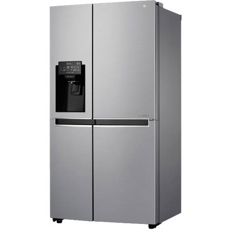 Side by Side LG Total No Frost GSL760PZXV , 601 L , Clasa A+, H 179 cm, Inox