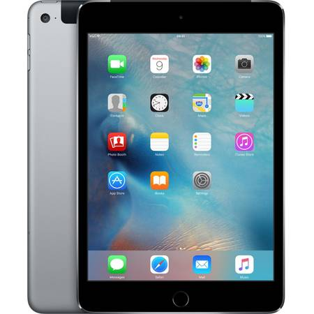 Tableta Apple iPad mini 4, 32GB, Cellular, 4G, Space Grey