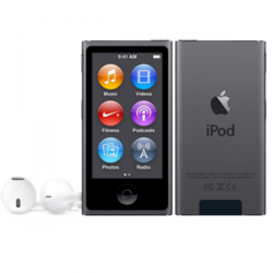 Apple iPod nano 16gb space gray