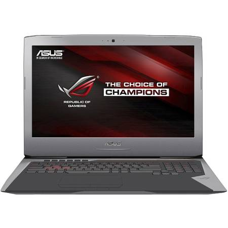 Laptop ASUS Gaming 17.3'' ROG G752VL, FHD IPS, Intel Core i7-6700HQ, 16GB, 1TB 7200 RPM, GeForce GTX 965M 2GB, FreeDos