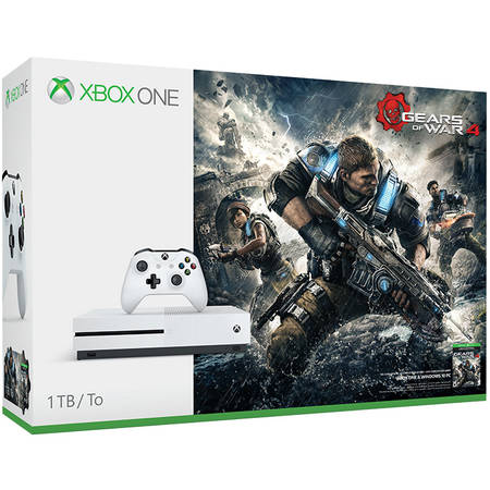 Consola Microsoft Xbox One S 1TB Gears of War 4 Bundle