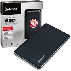 INTENSO SSD Extern 1.8'' 128GB, USB 3.0, Black