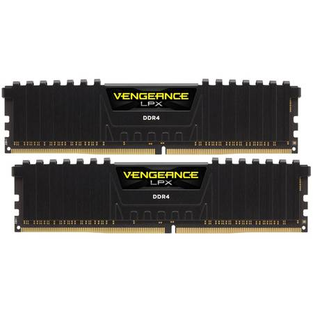 Memorie Corsair Vengeance LPX Black 8GB DDR4 2133MHz CL13 Dual Channel Kit