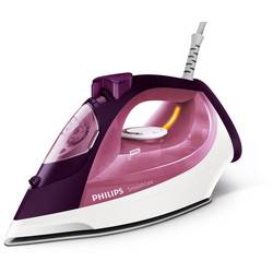 Philips Fier de calcat Smooth Care GC3581/30, 2400 W, talpa EasyFlow Ceramic, 0.4 l, 170 g/min, functie curatare Calc Clean, alb/mov
