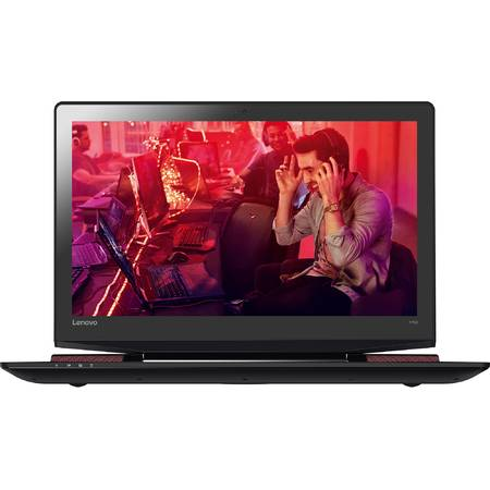 Laptop Lenovo Gaming 15.6'' Ideapad Y700, FHD IPS, Intel Core i7-6700HQ, 16GB, 1TB + 256GB SSD, GeForce GTX 960M 4GB, FreeDos, Black