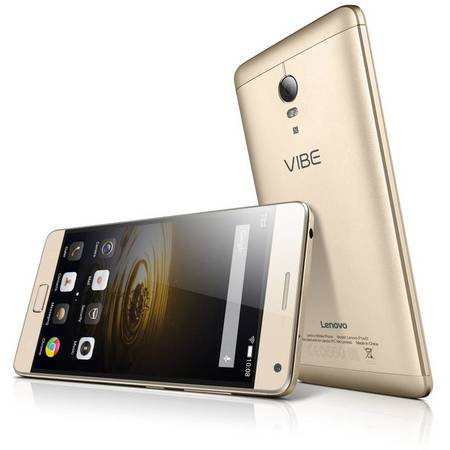 Telefon mobil Lenovo Vibe P1 PRO Dual Sim, 4G, 5.5'', Octa-core, RAM 3GB, Stocare 32GB, Camera 13MP/5MP, Gold