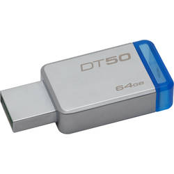 KINGSTON USB Flash Drive 64GB DataTraveler 50, USB 3.1