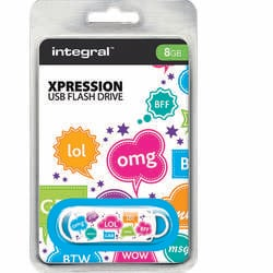 Integral Memorie USB Xpression TXT 8GB USB 2.0