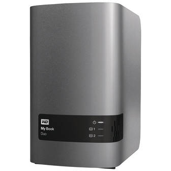 "Western Digital HDD Extern My Book Duo, 3.5"", 12TB, USB 3.0"