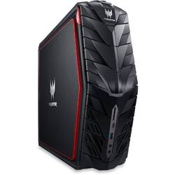 Sistem desktop Gaming Acer Aspire Predator G1-710, Intel Core i7-6700 3.4GHz, 16GB DDR4, 3TB + 256GB SSD, GeForce GTX 1080 8GB, Win 10 Home, Black