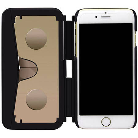 star Ochelari VR Case 2 Incorporati Direct In Husa Negru Auriu APPLE iPhone 6 Plus/6s Plus