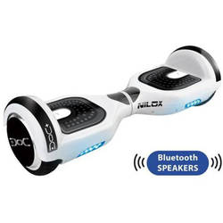 NILOX Transportor Hoverboard Doc 2 Plus Bluetooth Alb