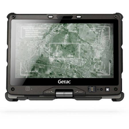 "Laptop Getac Fully Rugged Convertible, Core i5-5200U 2.2GHz, 11.6"" sunlight readable display, 4GB RAM, Multi-touch TS, 128GB SSD, Win 7 Pro 64bit"