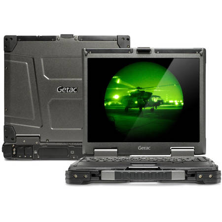 """Laptop Getac Ultra Rugged Core i5-4310M 2.7GHz, 13.3"""" Standard LCD, 4GB, 500GB HDD,Mechanical Backlit Keyboard, 9 Cell, Win 7 Pro 64bit"""