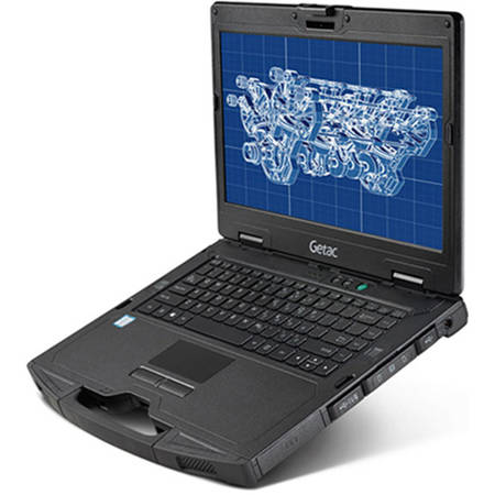 "Laptop Getac S410 Premium Semi Rugged, Intel Core i5-6200U (non-vPro), 14"" TFT, GB RAM, 500GB HDD, Win 10 Pro 64bit"