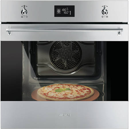 Smeg Cuptor CLASSICA 9 functii electric inox antiamprenta pizza