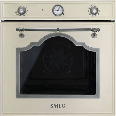 Smeg Cuptor CORTINA 9+1 functii electric crem/acc. arg. Antic