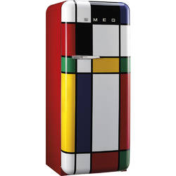SMEG Frigider 1 usa RETRO 50 222 l / 26 l multicolor