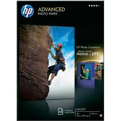 HP Q5456A PAPER Advanced Glossy Photo; A4; 25 sheet; 210 x 297 mm; Greutate/m2 250 Q5456A