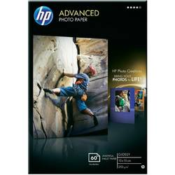 HP Q8008A PAPER Advanced Glossy Photo; 10 x 15 cm borderless; 60 sheet; Greutate/m2 250 Q8008A