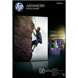HP Q8691A PAPER Advanced Glossy Photo; 10 x 15 cm borderless; 25 sheet; Greutate/m2 250 Q8691A