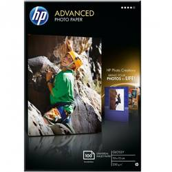 HP Q8692A PAPER Advanced Glossy Photo; 10 x 15 cm borderless; 100 sheet; Greutate/m2 250 Q8692A