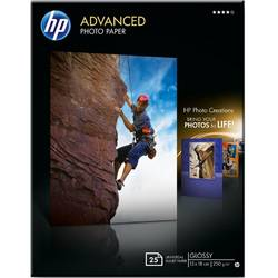 HP Q8696A Paper Advanced Glossy Photo 13 x 18 cm borderless 250 g/m2 25 sheets Q8696A