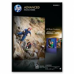 HP Q8698A PAPER Advanced Glossy Photo; A4/210 x 297 mm; 50 sheet; Greutate/m2 250 Q8698A