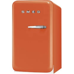 SMEG minibar RETRO 50 orange balamale stanga