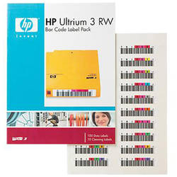 HP Ultrium 3 RW Bar Code Label Pack Q2007A