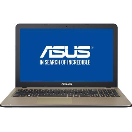 "Laptop ASUS 15.6"" X540LJ,Intel Core i3-5005U, 4GB, 500GB, GeForce 920M 2GB, FreeDos, Chocolate Black, No ODD"