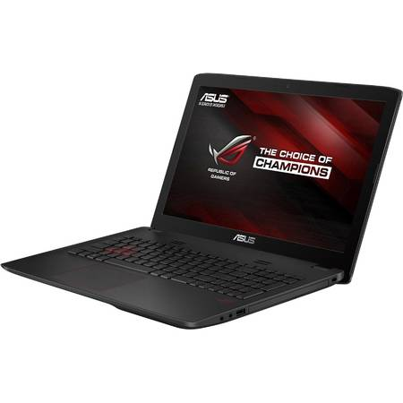 Laptop ASUS Gaming 15.6'' ROG GL552VX, FHD, Intel Core i7-6700HQ, 16GB, 1TB 7200 RPM, GeForce GTX 950M 4GB, FreeDos, Grey, versiunea metalica