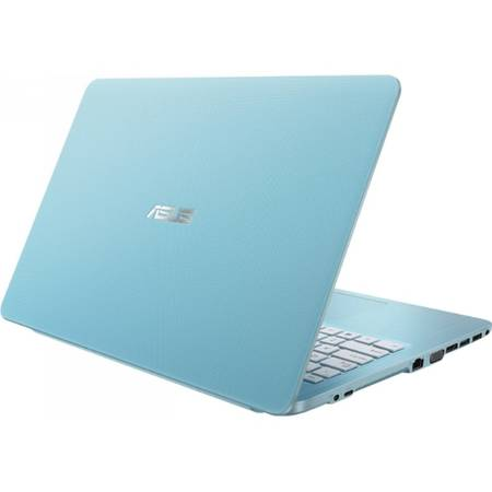 "Laptop ASUS 15.6"" X540SA, Intel Celeron N3060, 4GB, 500GB, GMA HD 400, FreeDos, Aqua Blue"