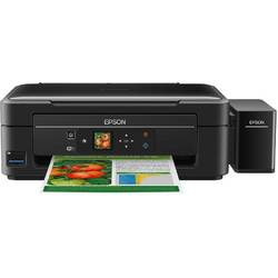 Multifunctional inkjet color CISS Epson L382, A4