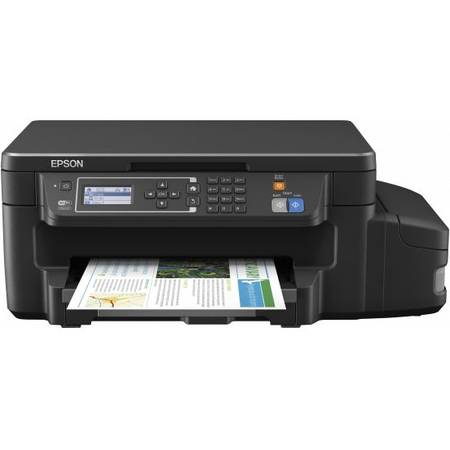 Multifunctional inkjet color CISS Epson L605, A4, Wireless