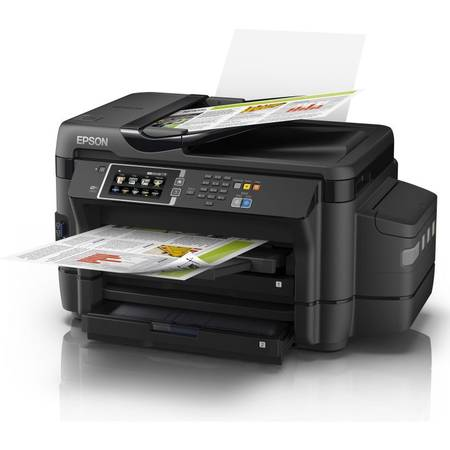 Multifunctional inkjet color CISS Epson L1455, A3, Wireless