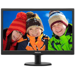 Monitor LED Philips 193V5LSB2/62  18.5 inch 5ms black