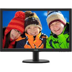 "Monitor LED Philips 243V5QHSBA/00 23.6"" 8ms Black"