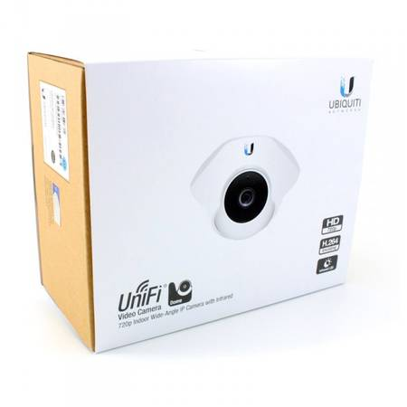 UBIQUITI Camera IP UVC Dome, senzor IR, PoE, 720p