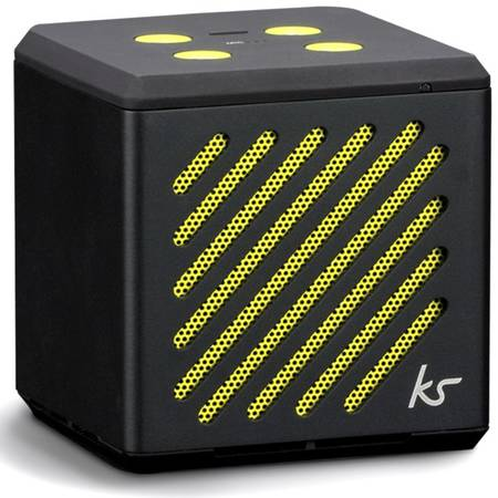 Boxa portabila KitSound Mini Tilt Bluetooth, universala, KSTILM Black