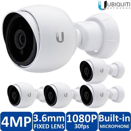 UBIQUITI Camera IP UVC G3, Outdoor, PoE, 1080p, pachet 5 buc, fara adaptoare PoE