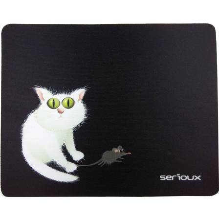 SERIOUX Mouse pad Cat and mice, MSP02
